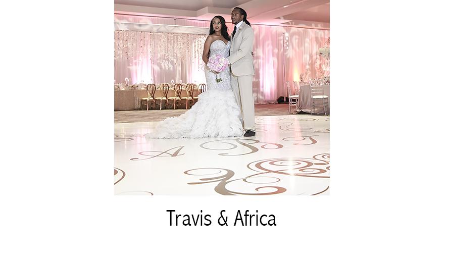 Mr. & Mrs. Travis Benjamin   NFL Wedding Photographer   Jungle Island   Miami, FL