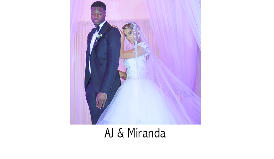 AJ Green & Miranda Brooke   NFL Wedding Photographer    Atlanta, GA