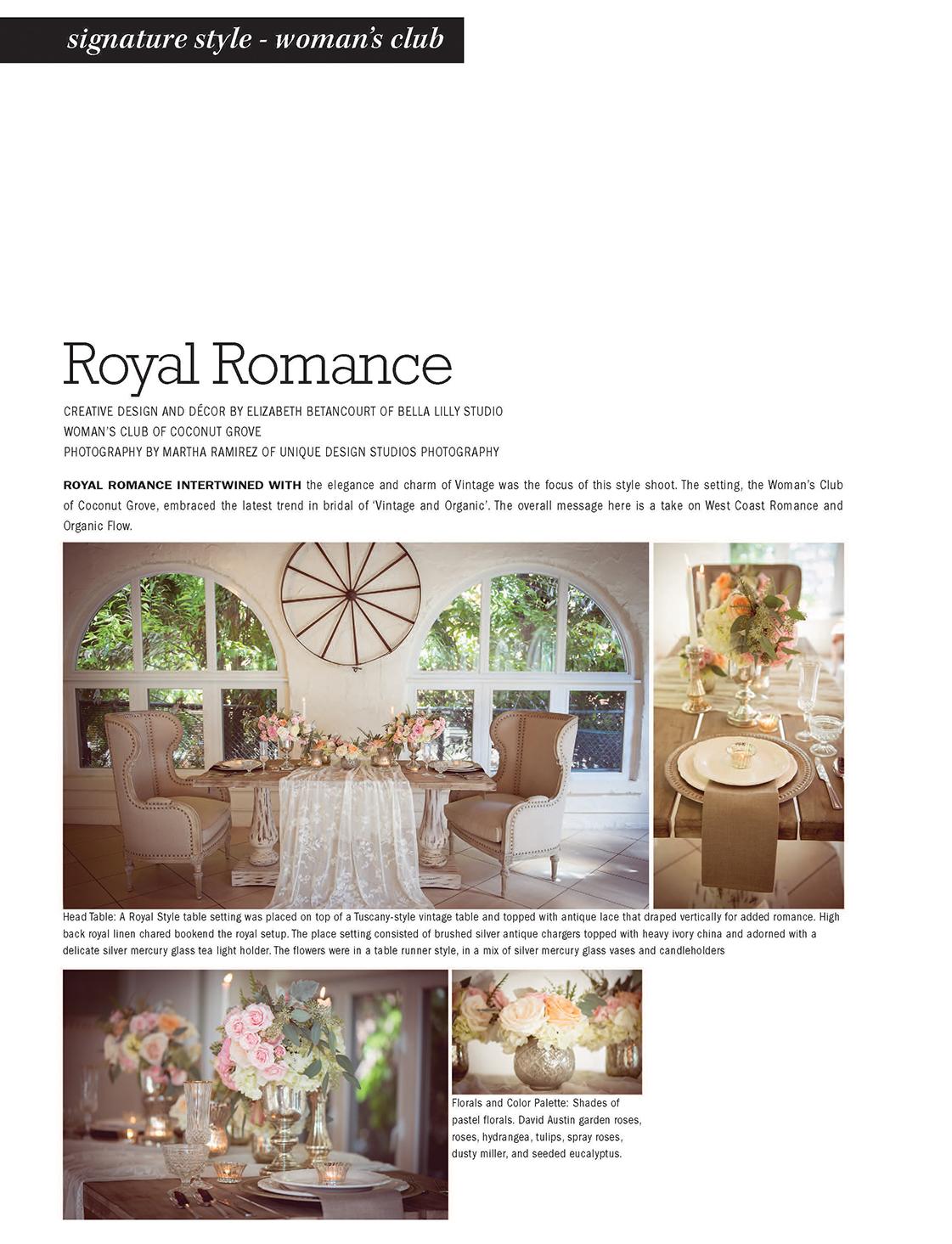 Royal Romance | ENCHANTED BRIDES